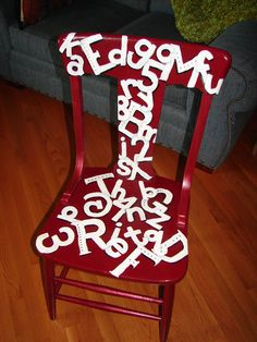 """Auction Reject reclaimed and auctioned for a """"Chair-ity"""""""