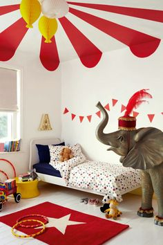 If you're looking for kids' bedroom inspiration, Dulux has produced 6 creative designs for childrens' bedrooms that are full of character & easy to create