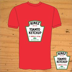 Heinz Ketchup TShirt by snolbertogoster on Etsy, $18.00