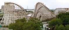 Memories!!!!Texas Cyclone at Astroworld.  Woo!!!!  photo from Coaster Gallery
