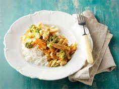 Broileri-kasviswokki Some Recipe, Fodmap, Chili, Healthy Recipes, Healthy Food, Dinner, Cooking, Ethnic Recipes, Health Foods