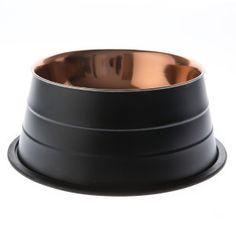 Top Paw® Black Gold Dog Bowl | Food & Water Bowls | PetSmart