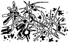 #2006 #abstractart #artabstrait #indianInk #encredechine #dessin #drawing #black #noir #marqueur #feutre #stylo #marker #pen #blackandwhite #futurist #mechanical #handdrawn #faitmain // 25-002a