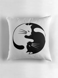 Ying yang cat by credbubble