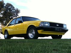 XD Falcon - So tidy!! Aussie Muscle Cars, American Muscle Cars, Old Classic Cars, Ford Falcon, Falcons, Mustangs, Rats, F1, Motor Car