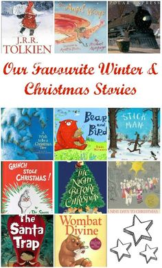 Our Favourite Christmas Picture Books - I CAN'T WAIT FOR CHRISTMAS and to get these out for the kids :-)