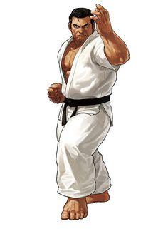 Takuma Sakazaki - Pictures & Characters Art - King of Fighters XIII