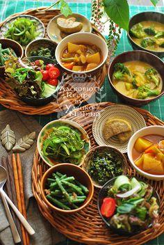 アジア風小鉢料理ランチ。ルーティン。 の画像|西野椰季子のマクロビオティックレシピ