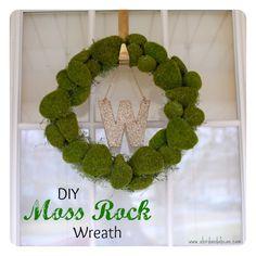 Springtime Moss Rock