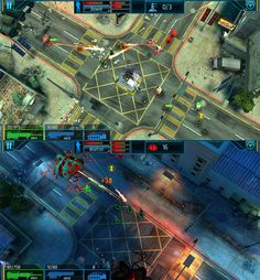 Global Outbreak (Red Robot Labs, US 2014) - top-down action shooter with location-based elements