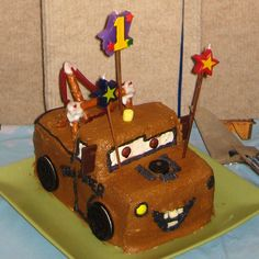 3-D Tow Mater Cake | Recipes | Spoonful