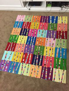 I finished my last RSC quilt top on the very last day of the year. Nothing like a self-imposed deadline to get you motivated! At the begi...