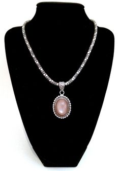 Stunning Byzantine Style Sterling Silver 925 Necklace