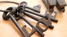 Unlock Your Creativity: 5 Crafting Projects Using Antique Keys Writing Portfolio, Antique Keys, Craft Projects, Creativity, Ribbon, Crafting, Antiques, Handmade Gifts, Leather