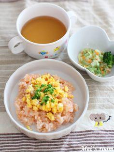 離乳食後期オムライスレシピ