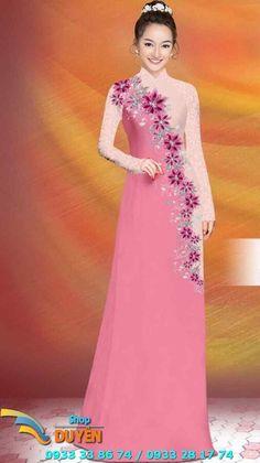 Vietnam Costume, Loom Knitting Patterns, Vietnamese Dress, Hijab Dress, Ao Dai, Designer Wear, Lady, Indian Fashion, Beautiful Dresses