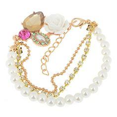 Yantu Crystal Bead Bangle Link Bracelet Wrap Bracelets YANTU http://www.amazon.com/dp/B00OZCM1OW/ref=cm_sw_r_pi_dp_ozWnvb1ZGG2R6