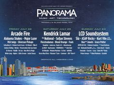 After months of speculation, the Panorama Music Festival has finally been announced. It's taking place on Randall's Island Park on the weekend of Friday, Jul...