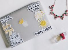 MadEDesigns is an independent artist creating amazing designs for great products such as t-shirts, stickers, posters, and phone cases. Mac Stickers, Cute Laptop Stickers, Macbook Stickers, Macbook Decal, Coque Macbook, Laptop Screen Repair, Laptop Design, Computer Case, Computer Skins
