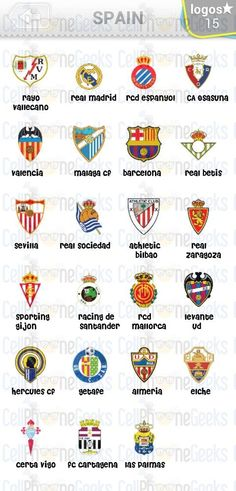 Level 3 – Logo Quiz Football Clubs Spain Answers