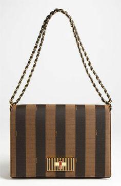 Fendi 'Pequin Claudia - Large' Shoulder Bag available at #Nordstrom