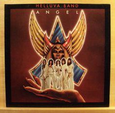 ANGEL - Helluva Night - mint minus - Vinyl LP - AOR - Greg Giuffria - Top RARE