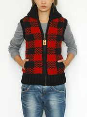Granted Lumberjack Vest. Mmm. Warm and wooly.
