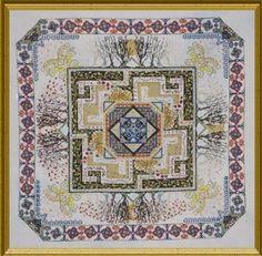 Celtic Maze Garden - Cross Stitch Pattern