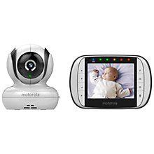 Motorola MBP 36S Digital Video Baby Monitor http://www.parentideal.co.uk/john-lewis---baby-monitors.html