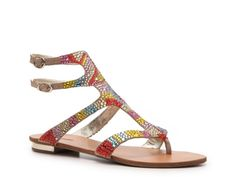 Zigi Soho Truly Flat Sandal    O. M. G. How cool is this design??  I so wish I had cash to blow on all these awesome shoes!'