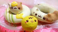 """Doubutsu doonatsu"", or animal donuts in Japan by  Animal Doughnut Ikumimama"