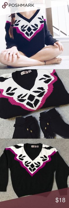 ✨NEW ARRIVAL✨Oversized V-neck sweater Amazing bright purple design  V neck  Fluffy cozy and oversized amazing paired with booties  Nothing makes me happier than the perfect fall sweater   Hey friend! ✌🏼 🙅🏼no trades unless stated in description  🐕pet friendly home  ✨don't forget to bundle & SAVE 💚always with love from my closet to yours sheridan square Sweaters V-Necks