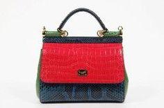 d7e06865b3 Dolce   Gabbana handbag BB6003 A2697 80995 Leather Satchel Handbags