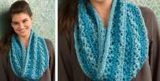 knitted lace cowl | the knitting space
