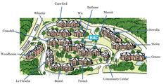 Uconn Hilltop Apartments Map With Names Of Buildings
