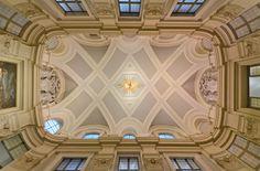 Borromini. Colegio Propaganda Fide, Roma. Interior.