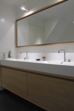 Bathroom just fished. By Baden Baden Interior Design by Joost Tromp