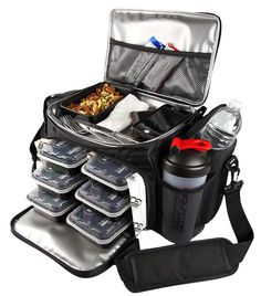5 Must Have Accessories For Healthy Eating On The Go. This, almost 200 dollar, meal prep on the go container system is a dream!