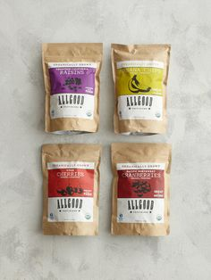 ALLGOOD - Organic Dried Fruit Packs