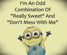 New Funny Minions Pictures :) - New Funny Minions Pictures:]- funny Min .-Neue lustige Minions-Bilder 🙂 – Neue lustige Minions-Bilder :] – lustige Min… New Funny Minions Pictures :] – New Funny … - Minion Humour, Funny Minion Memes, Minions Quotes, Funny Jokes, Hilarious, Funny Sarcastic, Minion Sayings, Fun Sayings, Funniest Memes