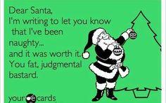 Bad santa ecards
