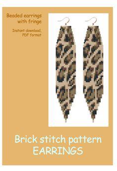 bead weaving patterns for bracelets Bead Crochet Patterns, Beading Patterns Free, Bead Embroidery Patterns, Beaded Earrings Patterns, Seed Bead Patterns, Bead Crochet Rope, Beading Tutorials, Weaving Patterns, Art Patterns