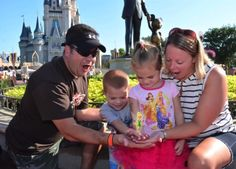 #DisneyKids: First Photo at Magic Kingdom Park