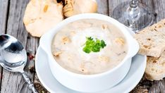 Crème de champignons Slow Cooker Recipes, Hummus, Mashed Potatoes, Food And Drink, Nutrition, Lunch, Parfait, Cooking, Ethnic Recipes