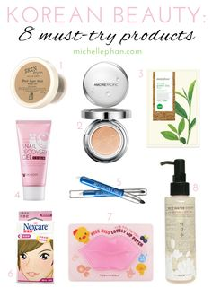 Korean Beauty: 8 Must-Try Products - Michelle Phan