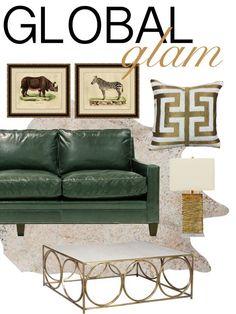 Global Glam By Turners Furniture
