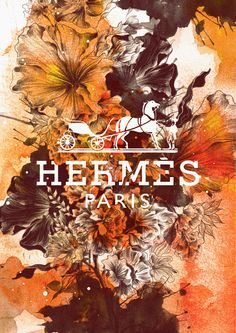 Brands In Full Bloom II by Daryl Feril, via Behance