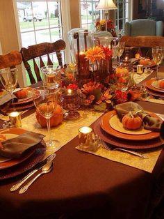 thanksgiving feast table pinterest thanksgiving dinner tables bhgre fall pin love pinterest - Thanksgiving Table Settings Pinterest