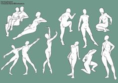 I think i will start trying more complex poses this next week. And more male poses to. Body Drawing, Drawing Base, Manga Drawing, Figure Drawing, Anatomy Sketches, Anatomy Drawing, Drawing Reference Poses, Anatomy Reference, Concept Art Tutorial