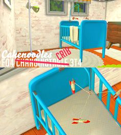 Sims 4 CC's - The Best: Crib by Cakenoodles